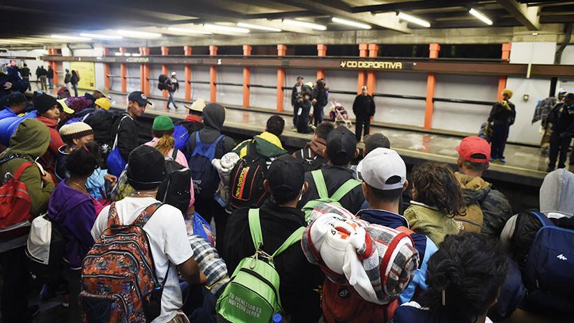 Reportan incendio en una importante estación de Metro en Ciudad de México