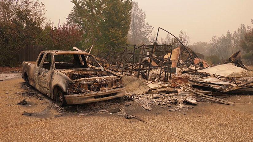 VIDEO: Paradise, el pueblo engullido por los incendios más mortíferos de California
