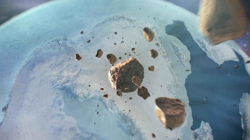 Más grande que París: Descubren un enorme cráter bajo el hielo de Groenlandia