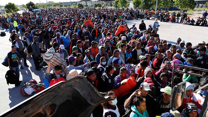 Varios miles de inmigrantes Hondureños rumbo a EEUU - Página 2 5beda92d08f3d9ca158b4567