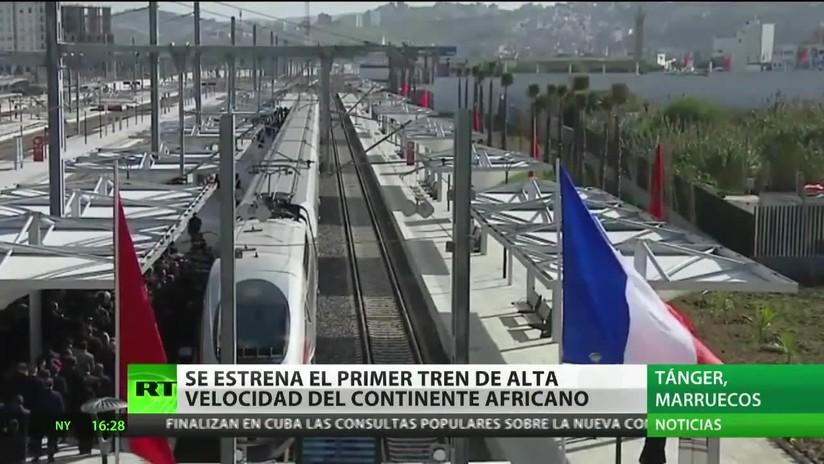 Marruecos: Se estrena el primer tren de alta velocidad de África