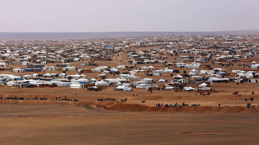 """Rusia: """"El campamento de refugiados sirios de Rukban evoca los campos de concentración"""""""