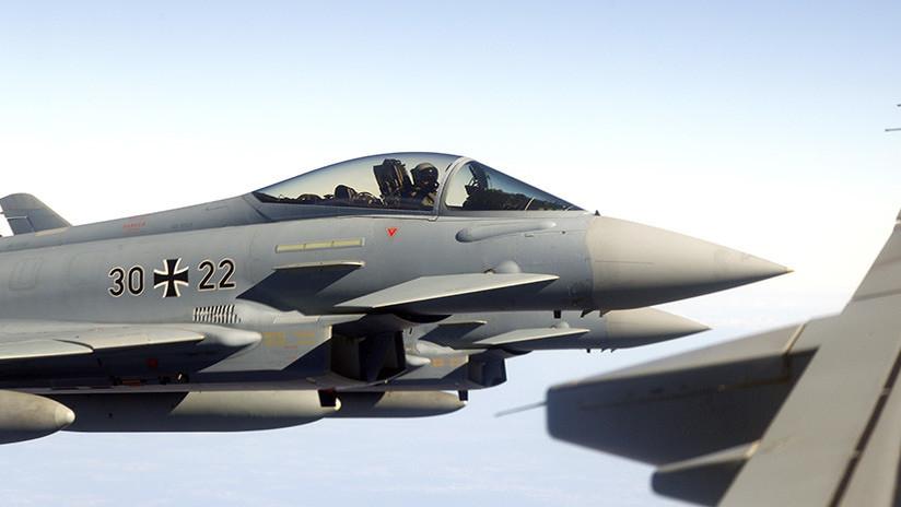 Fuera de juego: Los cazas Eurofighter alemanes no podrían ayudar a la OTAN contra Rusia