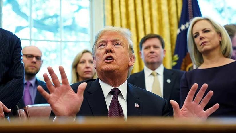 Trump responde por escrito preguntas de investigación por trama rusa