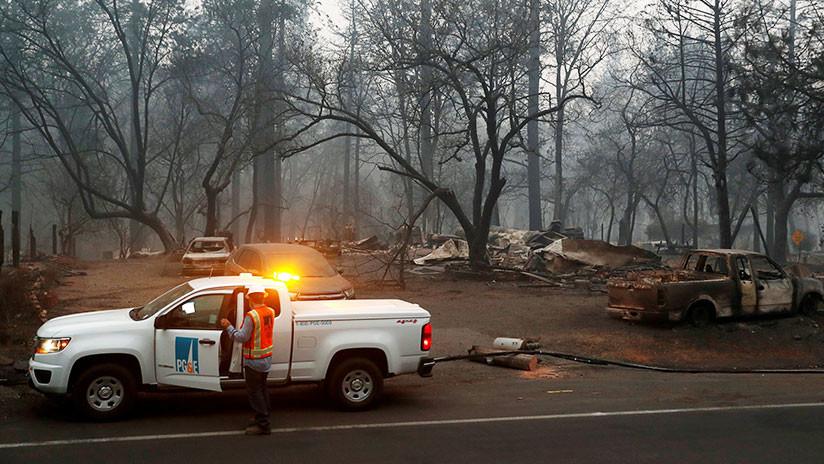 Incendios en California: El número de desaparecidos supera los 1.000