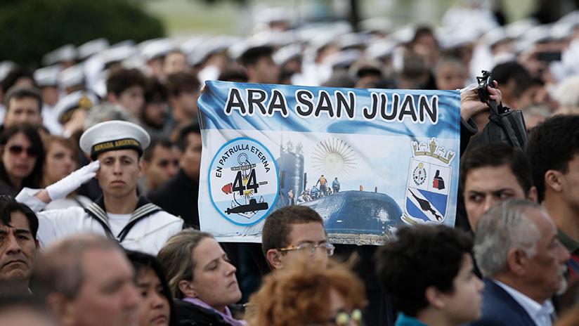 """Un indicio con """"fuerte probabilidad"""" reanima la búsqueda del submarino ARA San Juan"""