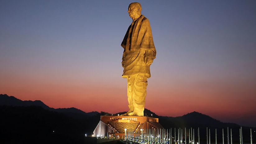Así se ve desde el espacio la estatua más grande del mundo (FOTO)