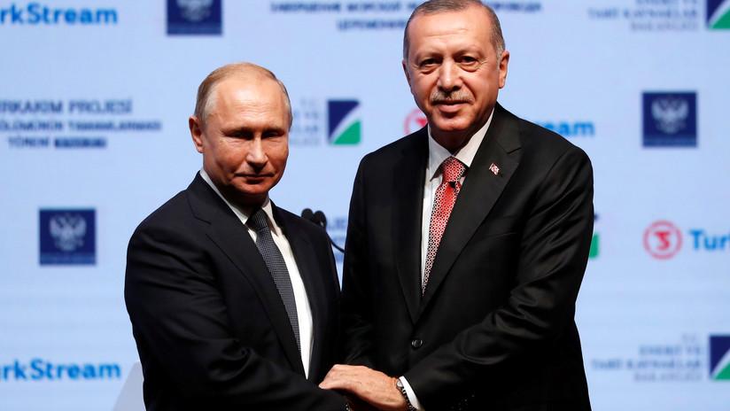 Putin: El gasoducto Turkish Stream sería completado para finales del 2019
