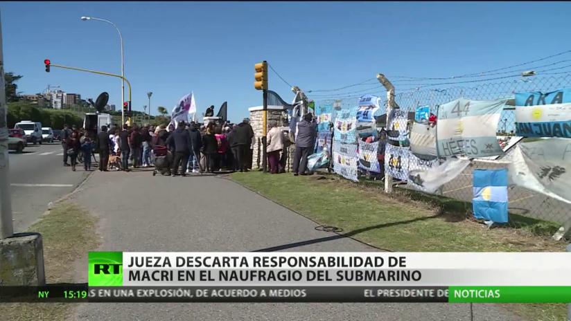 La Justicia descarta la responsabilidad de Mauricio Macri en el naufragio del submarino ARA San Juan