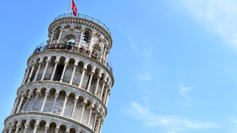 ¿Perderá su fama? La torre inclinada de Pisa se endereza cada día más