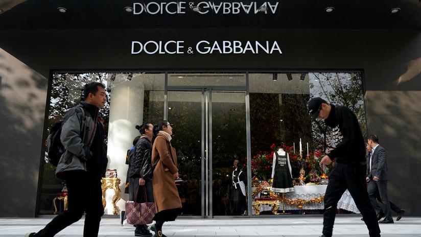 Las tiendas chinas boicotean productos de Dolce & Gabbana tras el escándalo 'racista'