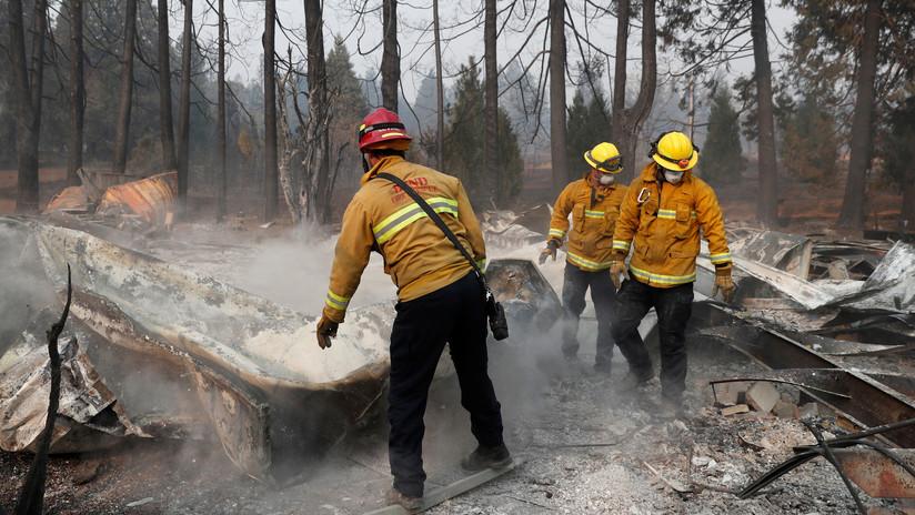 Fallecidos en incendios de California aumentan a 83