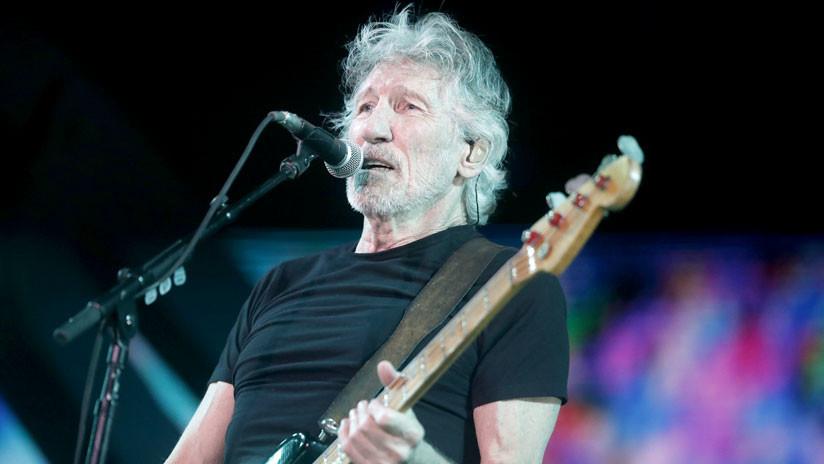 Roger Waters apoyó lucha estudiantil colombiana y se despachó contra Trump en concierto en Bogotá