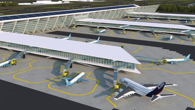 MITRE considera inviable propuesta de construir nuevo aeropuerto de México en Santa Lucía