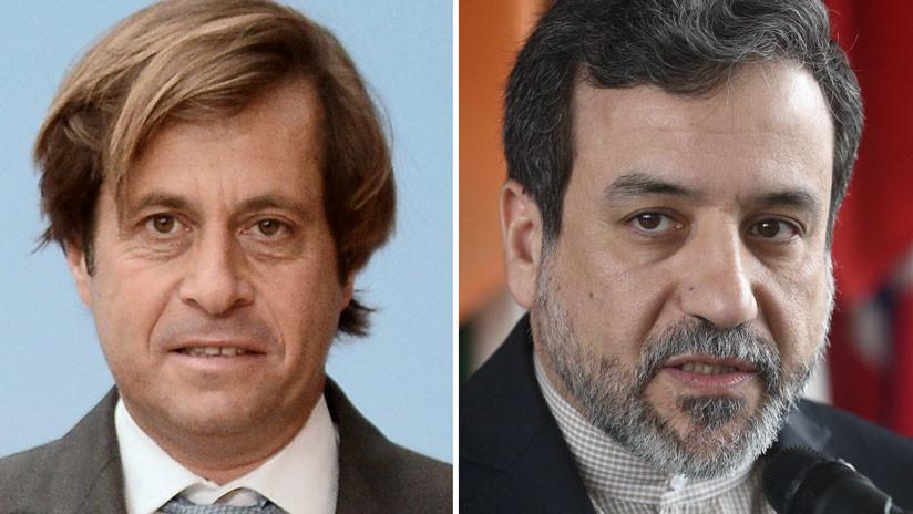 Irán y Francia discuten relaciones financieras en el marco de sanciones de EE.UU.