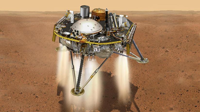La NASA explica cómo evitará que la sonda Insight acabe hecha pedazos durante el aterrizaje en Marte