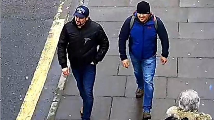 La Policía británica publica un nuevo video con los sospechosos del caso Skripal