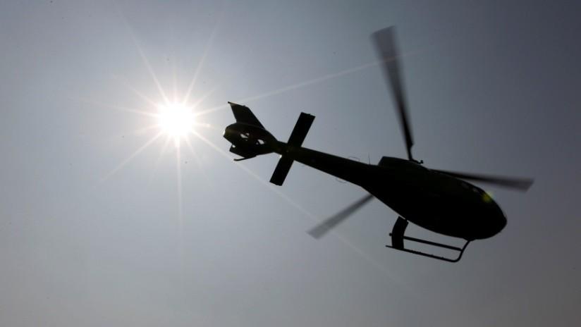 Desaparece helicóptero con 6 personas a bordo en la República Dominicana