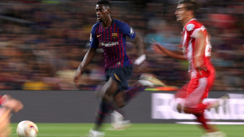 5530c1255 Las estrellas del Barcelona le dan un  jalón de orejas  a Dembéle por su