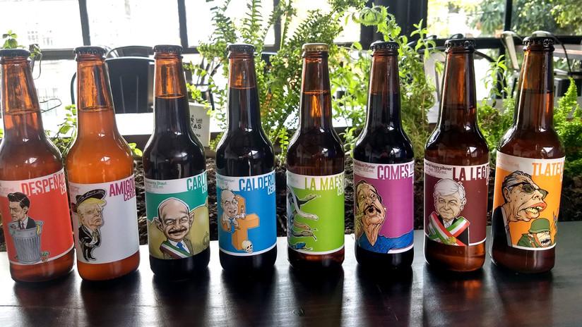 'Error de diciembre': Las cervezas mexicanas para 'emborracharse' con Obrador, Peña o Trump