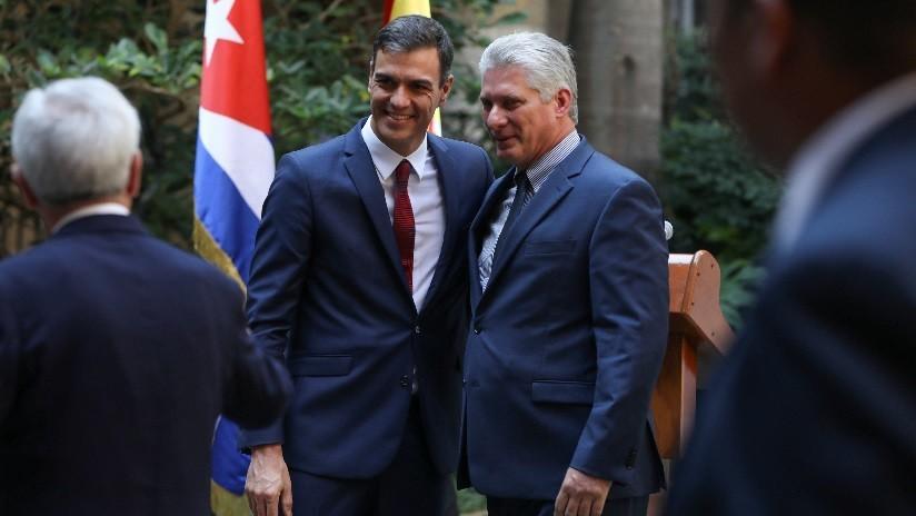 """España y Cuba adoptan un memorando de entendimiento para """"normalizar la relación política"""""""