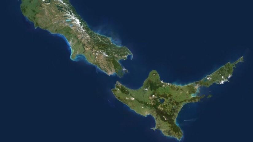 Las islas Sur y Norte de Nueva Zelanda se están acercando después del devastador terremoto del 2016