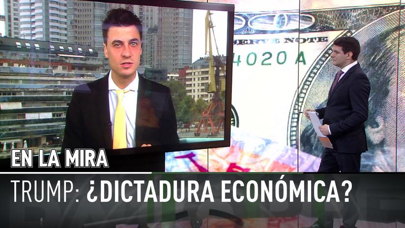"""'En La Mira' de RT y TeleSUR: """"China aparece como el gran campeón del libre comercio ante EE.UU."""""""