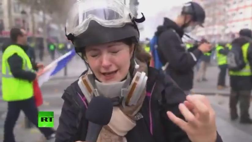 Equipo de RT resulta herido durante las protestas en Francia
