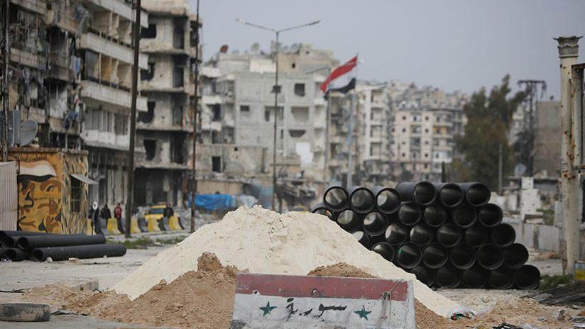 Decenas de civiles sufrieron intoxicación por cloro tras un ataque terrorista en Alepo