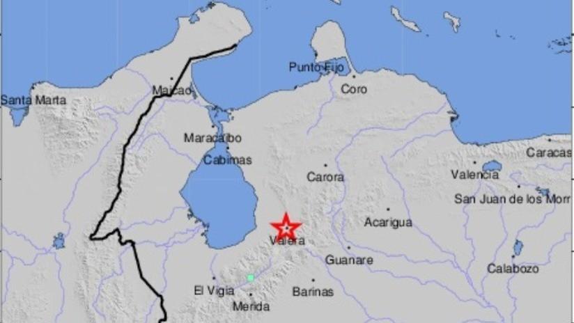 Venezuela: Fuerte temblor de magnitud 5,0 sacude el oeste del país