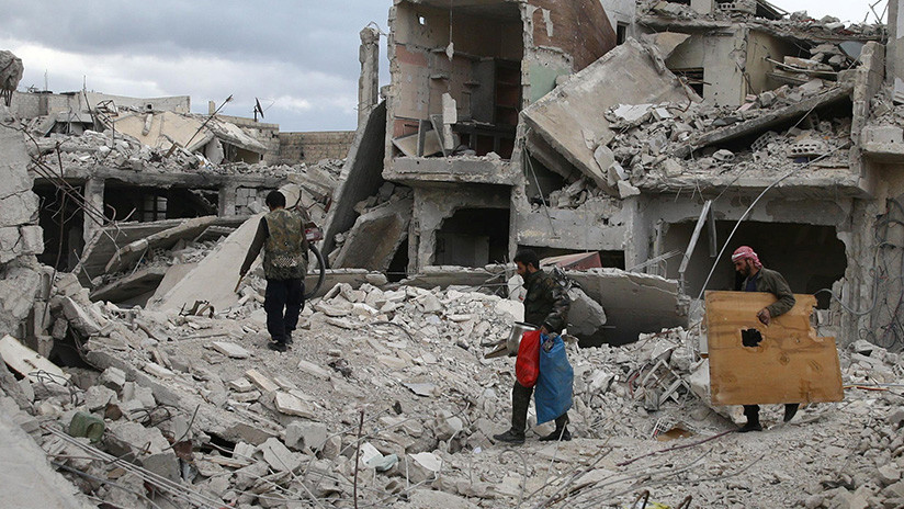Ministerio de Defensa ruso confirma 46 civiles heridos en ataque de terroristas con cloro en Siria