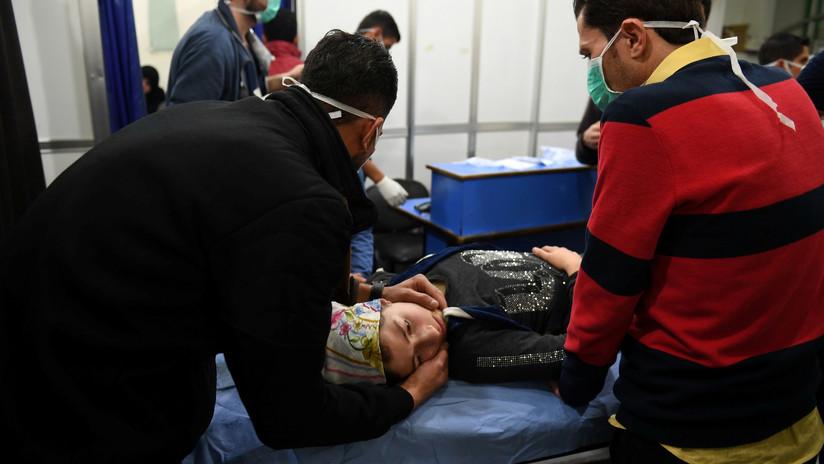SANA: Un centenar de sirios resultan afectados por un ataque tóxico en Alepo