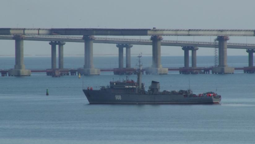 Rusia confirma que disparó contra los buques de Ucrania que violaron su soberanía y los apresó