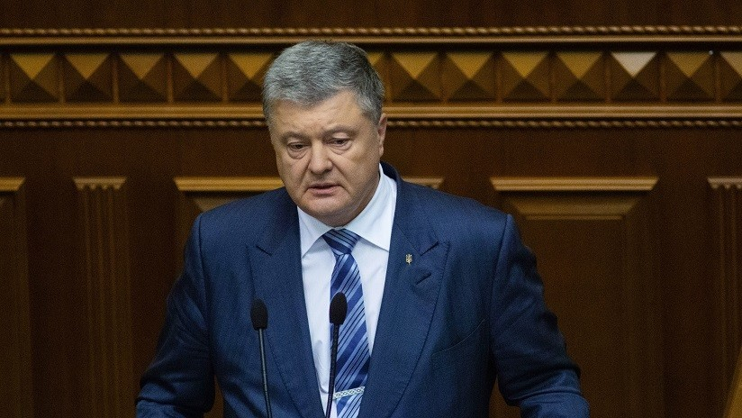 Presidente de Ucrania propone declarar ley marcial por 60 días tras incidente en estrecho de Kerch