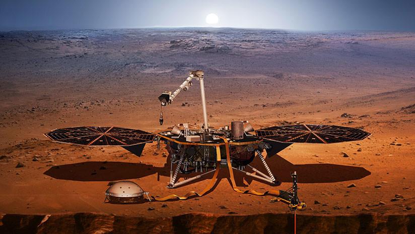 """""""6 minutos de terror"""": La sonda Insight de la NASA se prepara para aterrizar en Marte"""