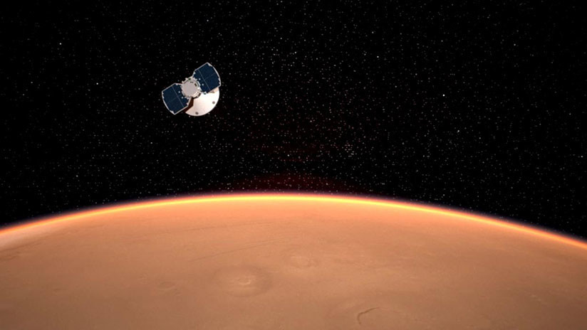 La sonda Insight de la NASA amartiza exitosamente 5bfc3bd008f3d9e0278b456a