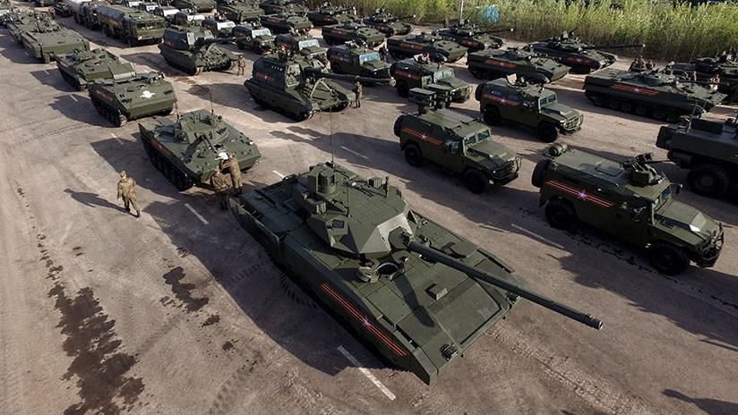 Estos cinco países son potenciales compradores del tanque ruso T-14 Armata