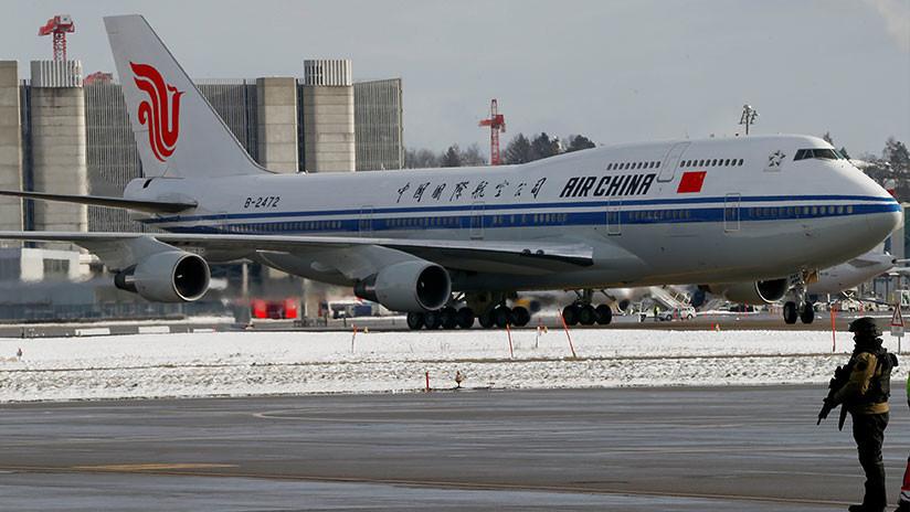 VIDEO: Aviones militares de España escoltan la aeronave del presidente chino Xi Jinping
