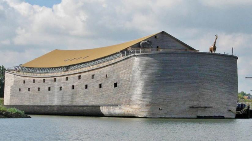 FOTOS: El empresario que construyó un Arca de Noé a tamaño real quiere que navegue por Israel