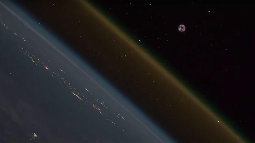 VIDEO: El impresionante 'timelapse' del lanzamiento de una nave espacial filmado desde el espacio