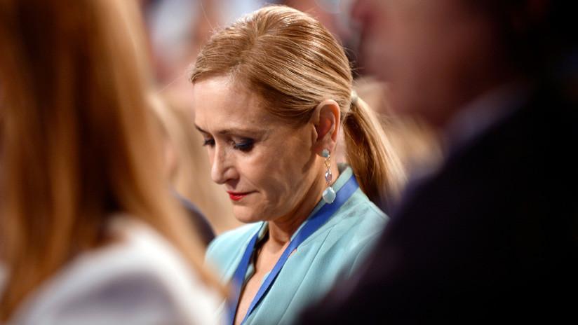 'Caso máster': Procesan a la expresidenta de la Comunidad de Madrid por falsedad documental