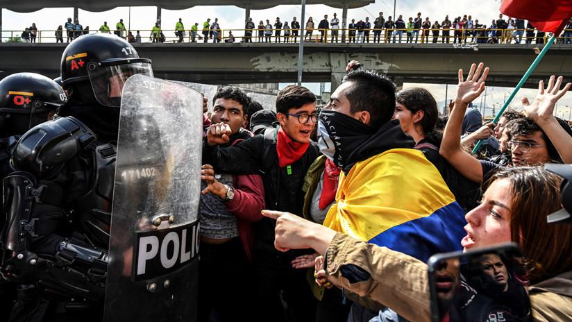 """Iván Duque: """"No aceptaremos el vandalismo como lenguaje de la protesta social"""""""