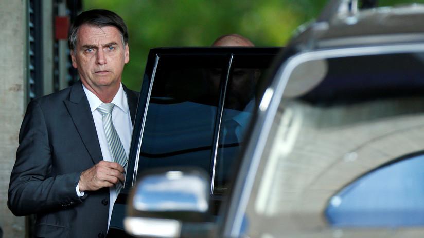 Bolsonaro discute con EEUU medidas para Venezuela
