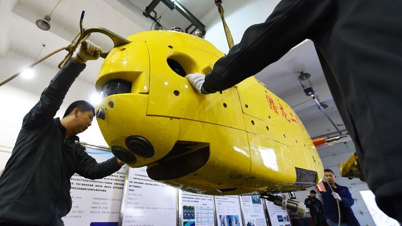 Robots y vehículos no tripulados: China quiere construir una base de aguas profundas manejada por IA