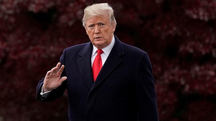 """""""Les pegaré tan duro como nadie"""": Trump amenaza con desclasificar documentos sobre los demócratas"""