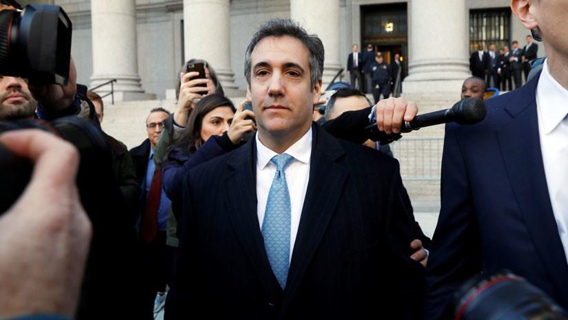 Michael Cohen se declara culpable de mentir al Congreso