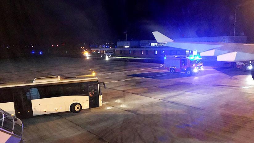 El avión de Merkel aterriza en Colonia por un problema técnico cuando volaba al G20 en Buenos Aires