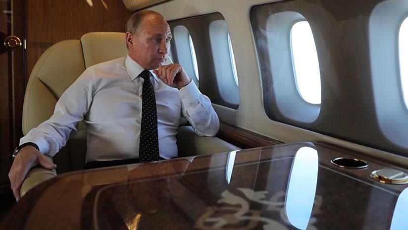 VIDEO: Putin aterriza en Buenos Aires para participar en la cumbre del G-20