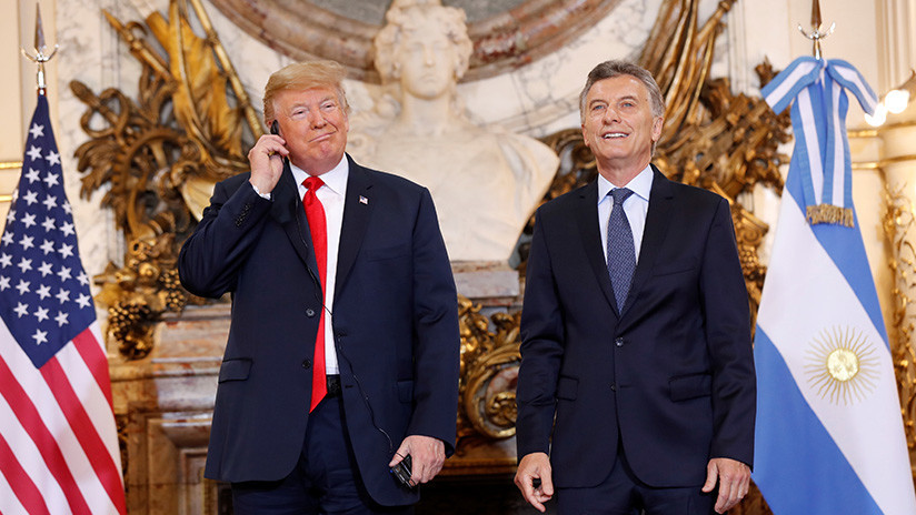 VIDEO: Trump expresa su descontento con la traducción en la Casa Rosada