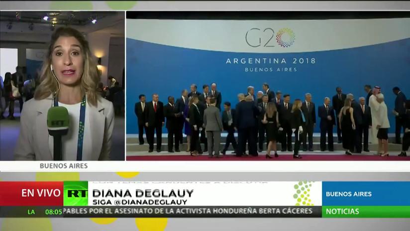 Arranca la cumbre del G20 en Buenos Aires